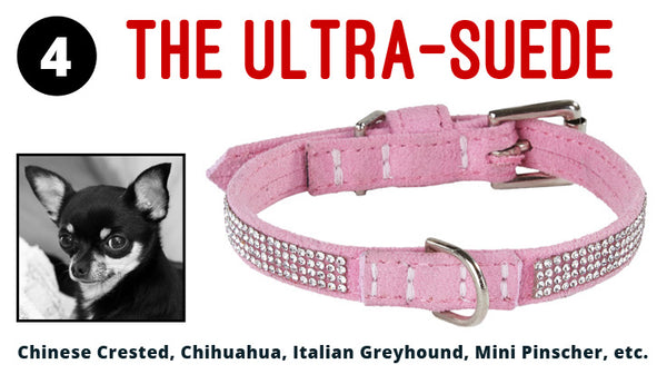 The Ultrasuede Dog Collar
