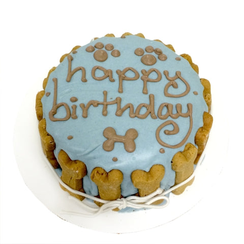 Birthday cake for boy dogs