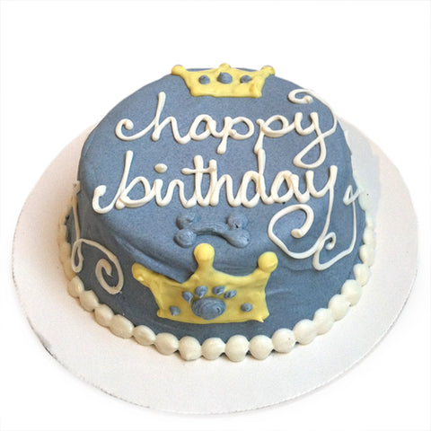 prince birthday cake for dogs