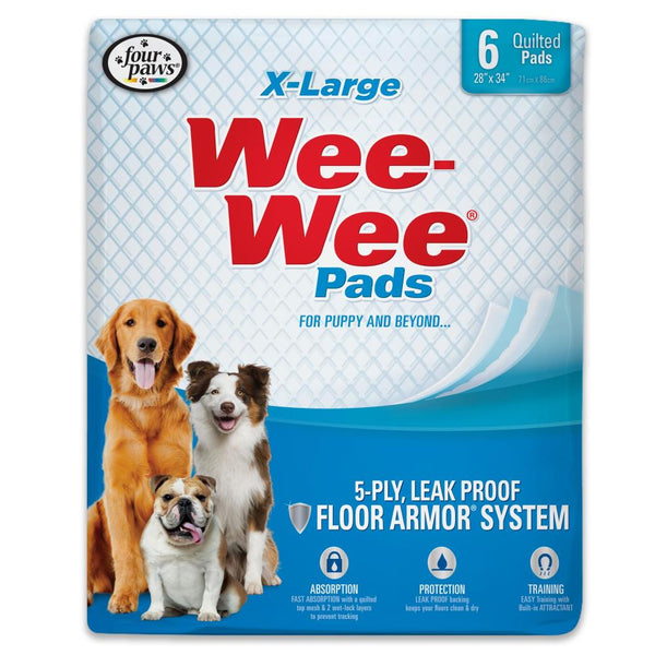 Wee-Wee Superior Performance X-Large Pee Pads for Dogs