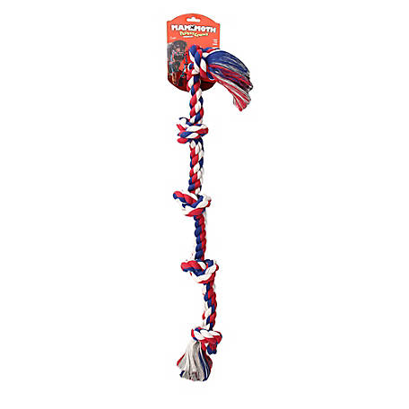 Flossy Chews 5-Knot Rope Tug Toy