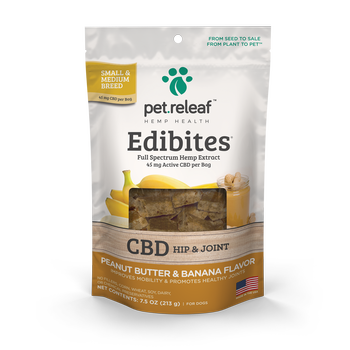 Pet Releaf CBD Edibites Dog Treats