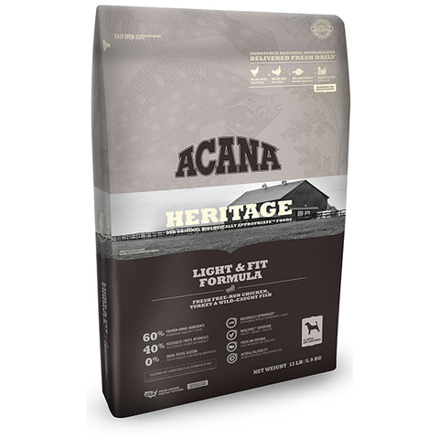 Acana Heritage Light and Fit Formula