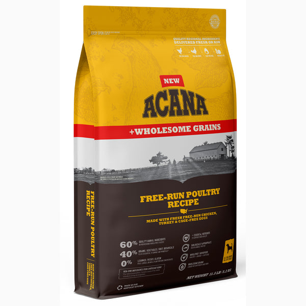 Acana Free-Run Poultry with Wholesome Grains Dry Dog Food
