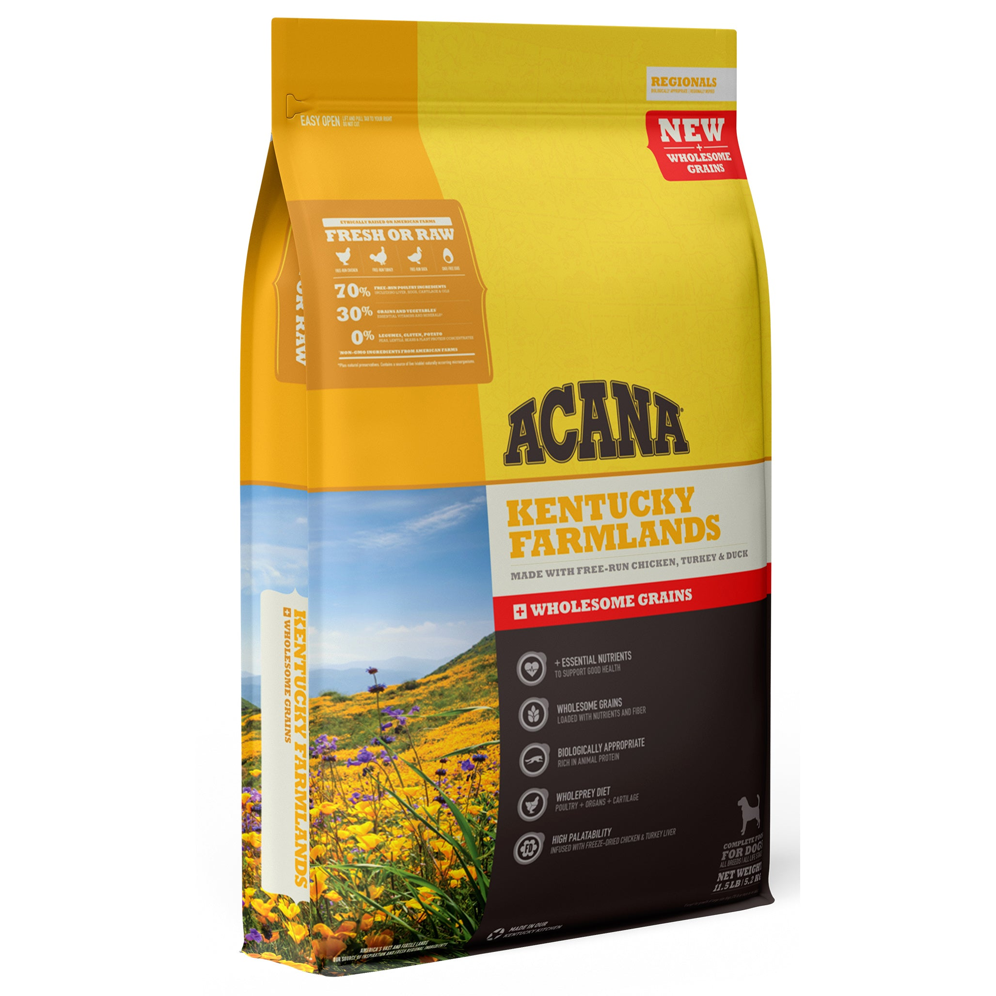 Acana Regionals Kentucky Farmlands with Wholesome Grains Dry Dog Food