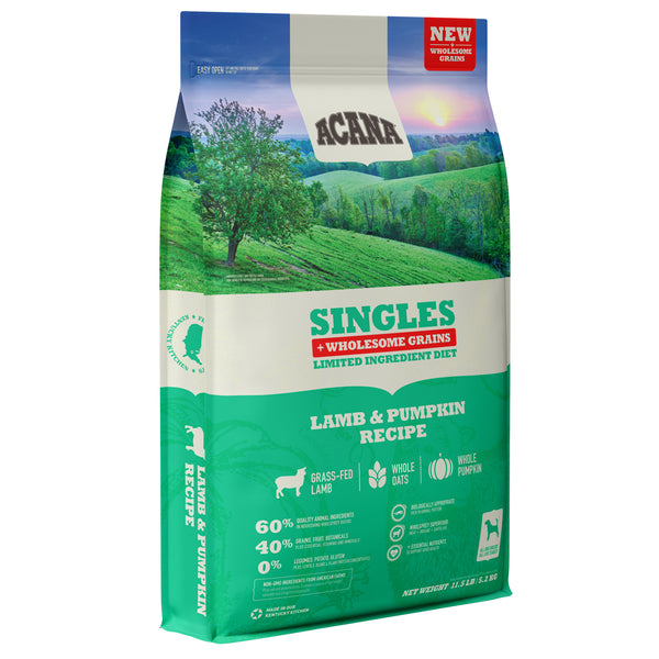 Acana Singles Lamb and Pumpkin with Wholesome Grains Dry Dog Food