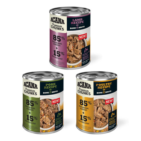 Acana Premium Chunks Canned Dog Food