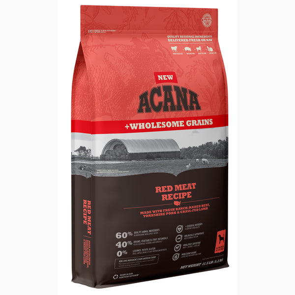 Acana Red Meat with Wholesome Grains Dry Dog Food