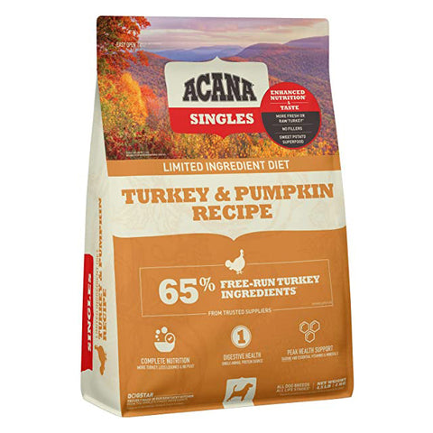 Acana Singles Turkey and Pumpkin for Dogs