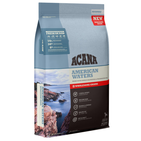 Acana Regionals American Waters with Wholesome Grains Dry Dog Food
