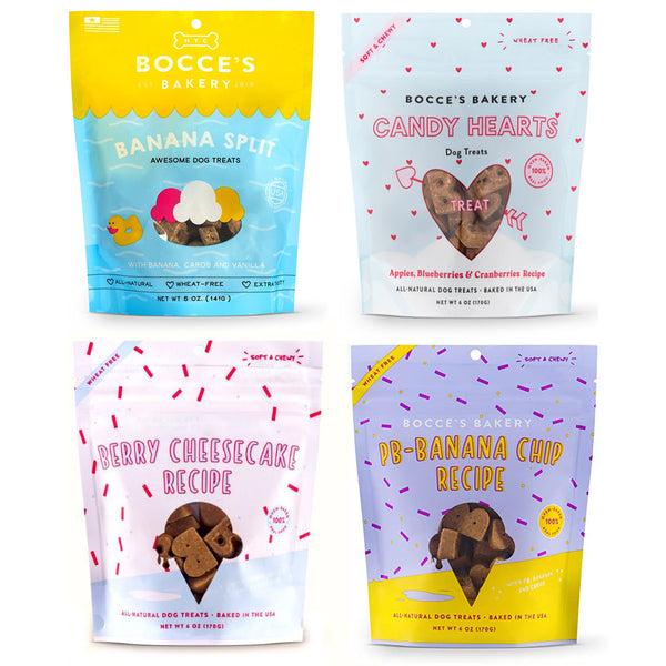 Bocce's Bakery Limited Edition Soft & Chewy Treats