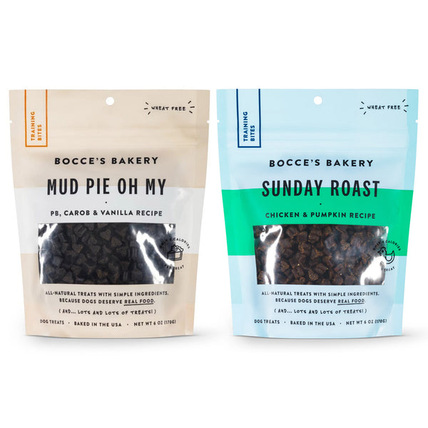 Bocce's Bakery Training Bites Treats