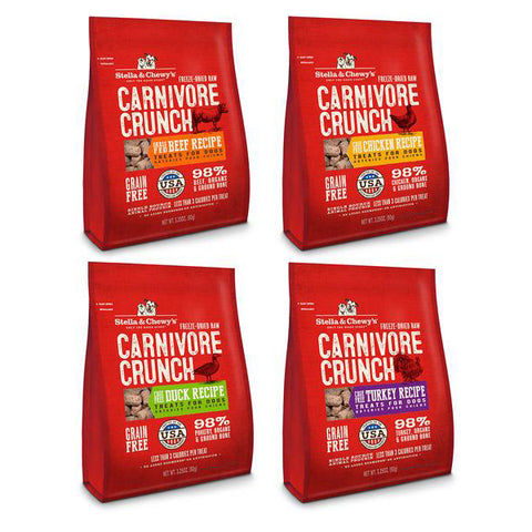 Stella & Chewy's Carnivore Crunch Treats