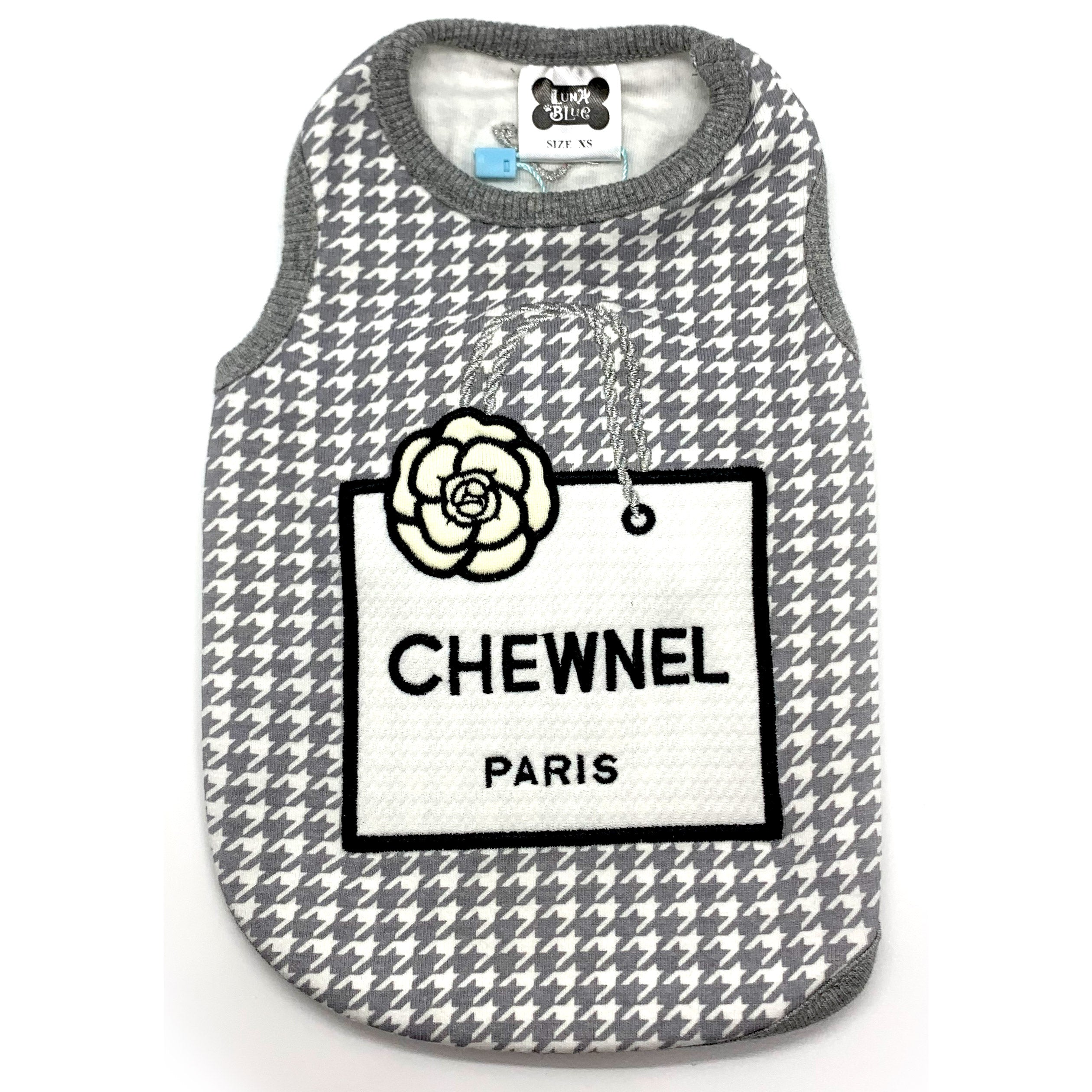 Chewnel Houndstooth Tank