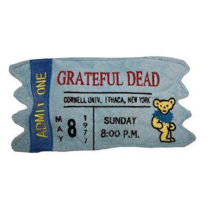 Grateful Dead Concert Ticket Toy