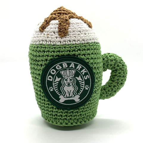 Dogbarks Knit Coffee Toy