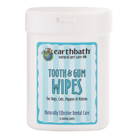 Earthbath Tooth & Gum Wipes