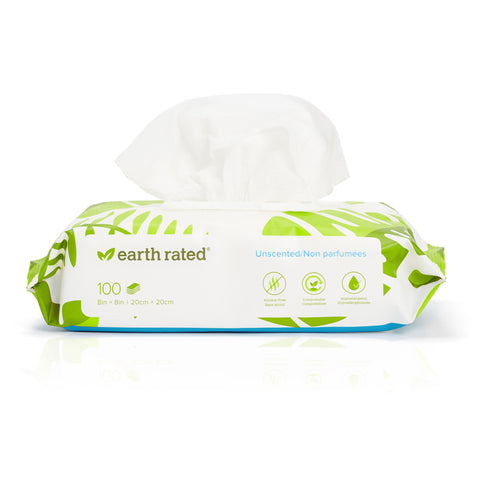 Earth Rated Biobased Wipes