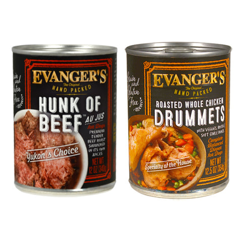 Evanger's Grain Free Hand Packed Food