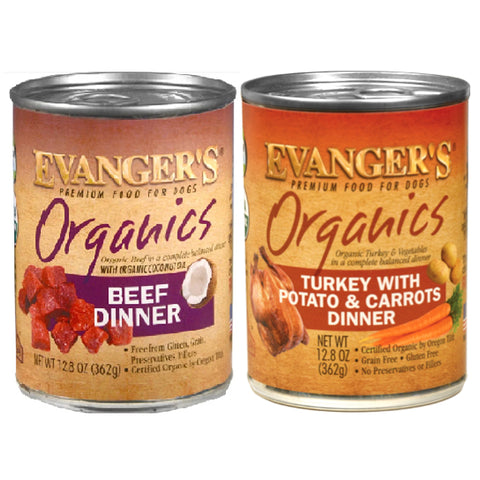 Evanger's Organic Canned Food