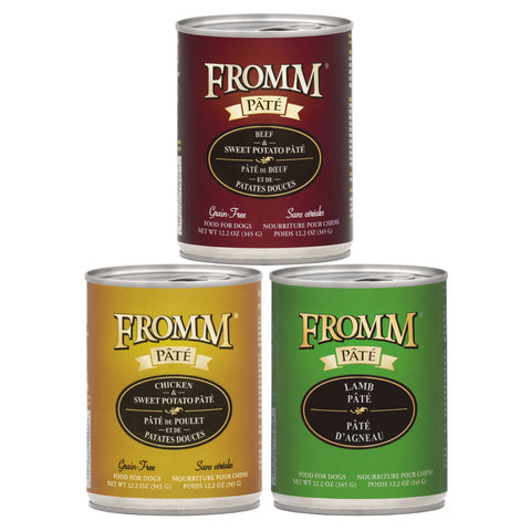 Fromm Pate Canned Dog Foods