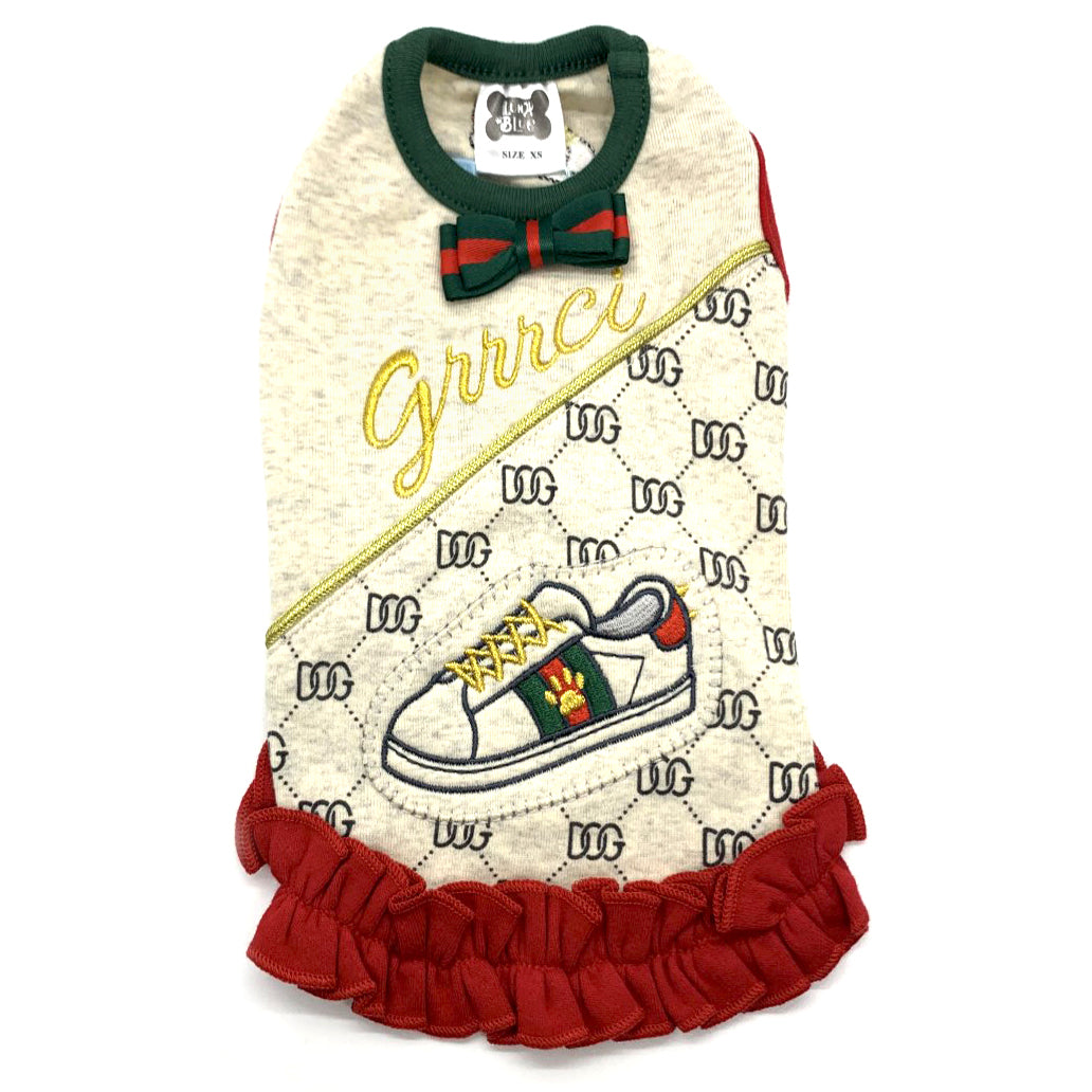Grrrci Sneaker Ruffled Dress
