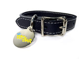 Dog Bar Tuscan Leather Dog Collar