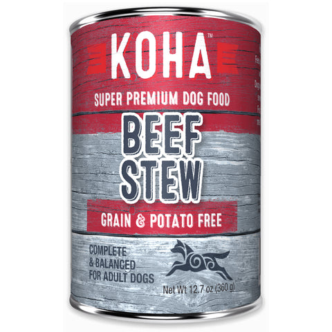 Koha Minimal Ingredient Stew Canned Dog Food