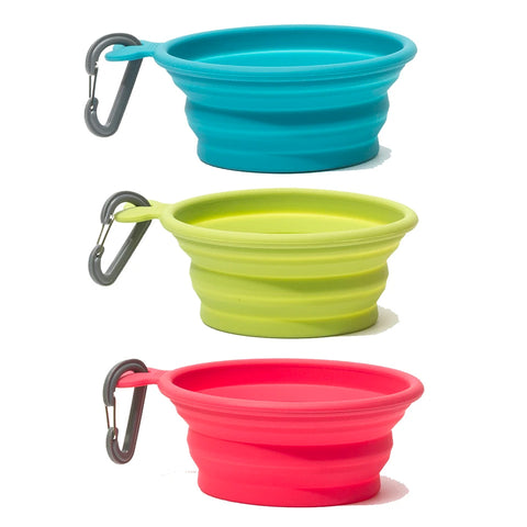 Messy Mutts Silicone Collapsible Bowls