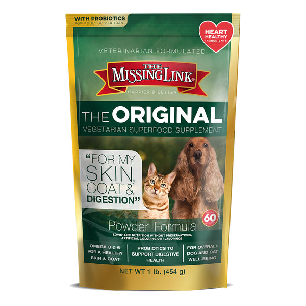 The Missing Link Original Vegetarian Skin, Coat & Digestion Supplement