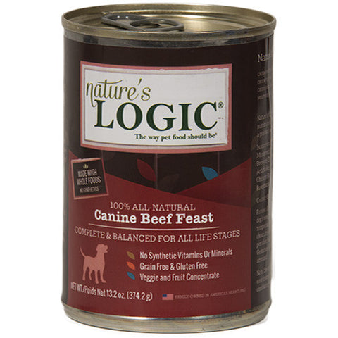 Nature's Logic Beef Canned Dog Food