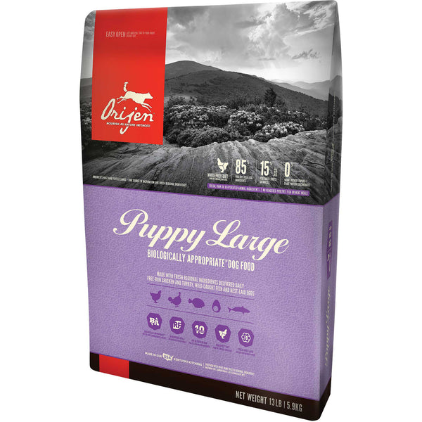 Orijen Large Breed Puppy Food (Grain-Free)