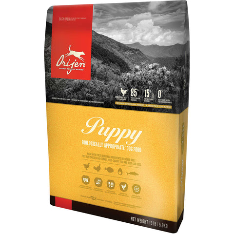Orijen Puppy Dry Dog Food (Grain-Free)