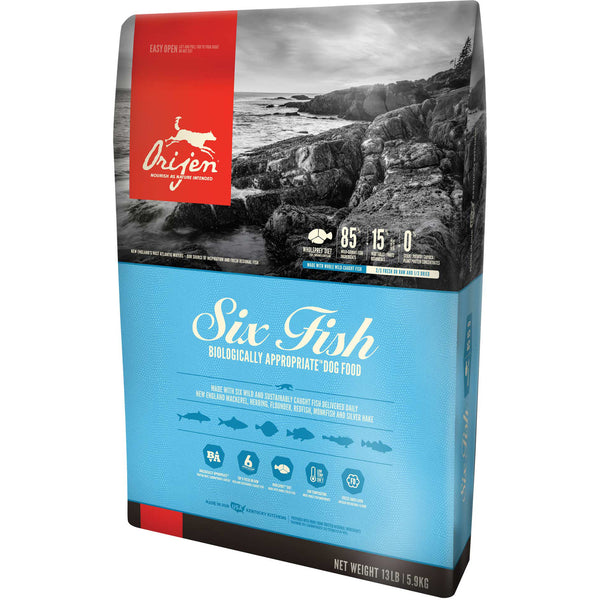 Orijen 6 Fish Dry Dog Food (Grain-Free)