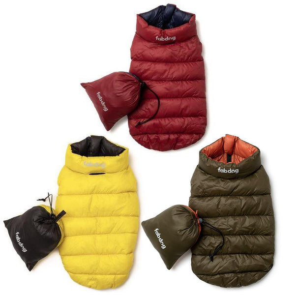 Packable & Reversible Puffer Coat