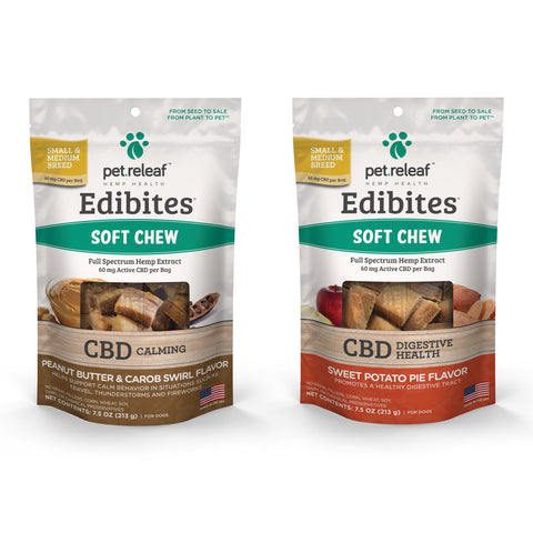 Pet Releaf CBD Soft Chew Edibites Dog Treats