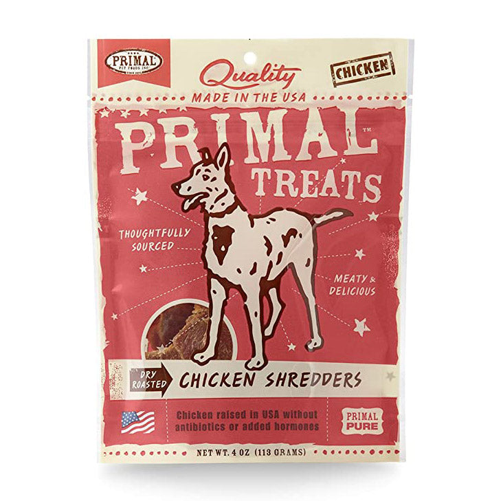Primal Chicken Shredder Treats