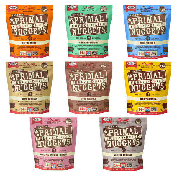 Primal Raw Freeze-Dried Canine Nuggets