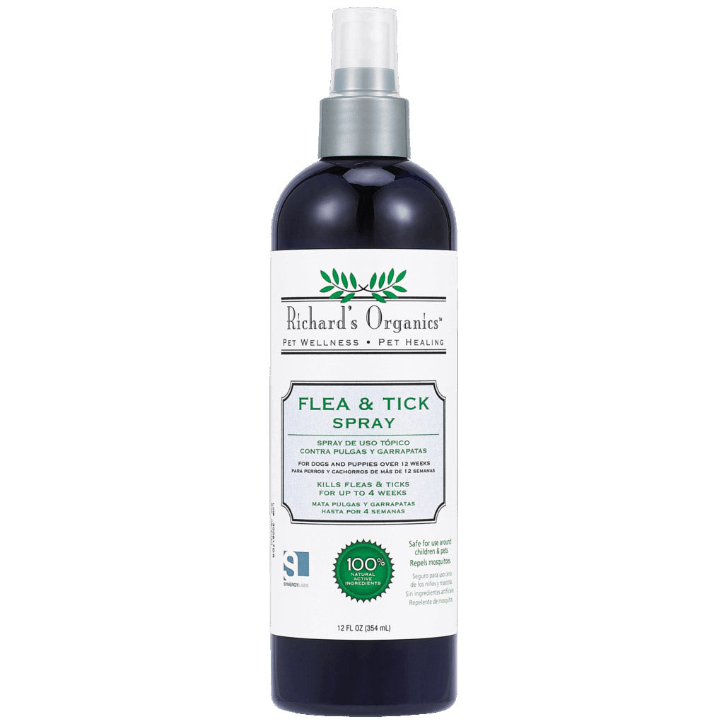 Richard's Organics Flea and Tick Spray for Dogs