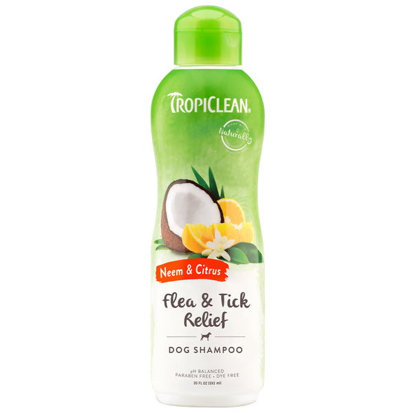 Tropiclean Neem & Citrus Shampoo for Dogs
