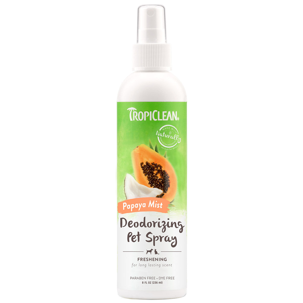 Tropiclean Papaya Mist Deodorizing Pet Spray