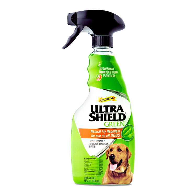 UltraShield Green Natural Flea and Tick Repellent for Dogs