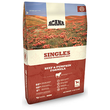 Acana Singles Beef and Pumpkin Formula