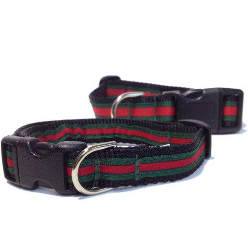 The Dog Bar Gucci Inspired Adjustable Collar