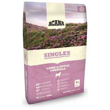 Acana Singles Lamb And Okanagan Apple Formula