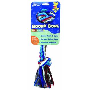 Multi-Colored 2 Knot Rope Bones Toy