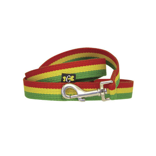 Rasta Stripe Dog Lead