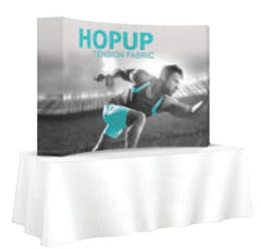 8' Hopup Tabletop Popup Straight or Curved