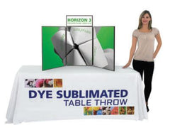 6' Dye-sublimated Table Drape