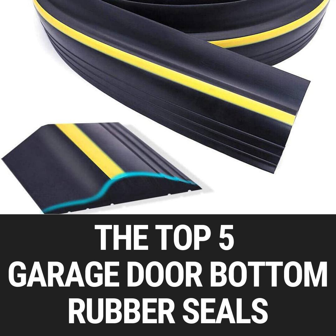 Garage Door Seals Wood Door Solid Rubber Bottom Seal 9 Ft 6 Nails Included Weatherproofing Garage Door Seals Amazon Com